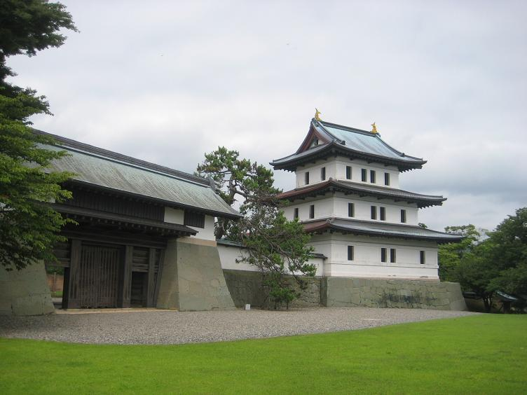 2013.08.11-096-1.00 Japan_北海道_松前_松前城