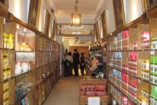 09ロンドン(紅茶のトワイニング本店内)