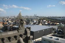 13 天守閣からの眺め(遠くに名古屋の街が見渡せます)
