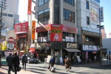 01宇都宮駅前の餃子のお店