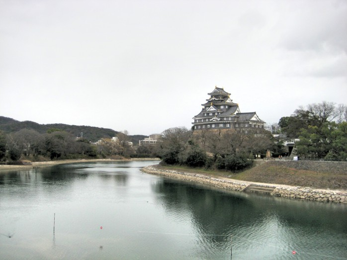 04 岡山城と旭川
