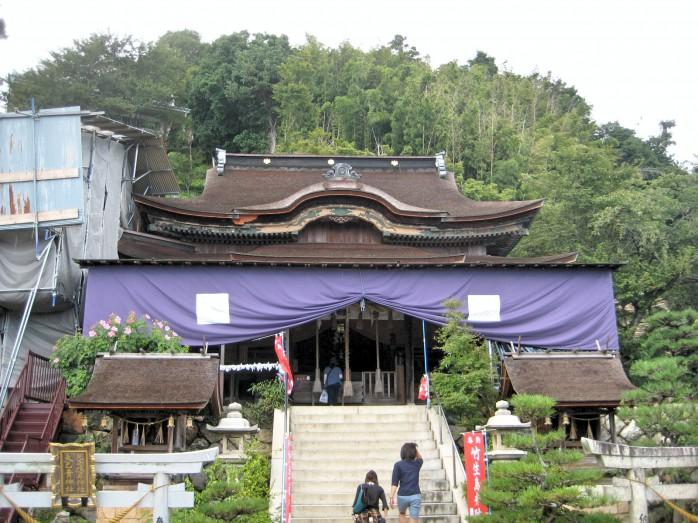 15 都久夫須麻神社(竹生島神社)