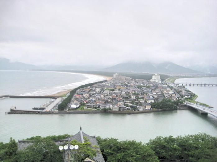 06 虹の松原(唐津城天守台から)