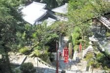 07 宝厳寺に向かう階段からの眺め