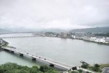 13 唐津城からの眺望