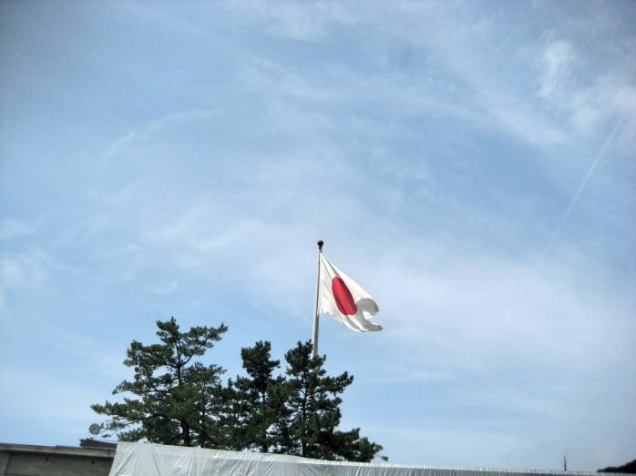 09 出雲大社_日本一大きな国旗