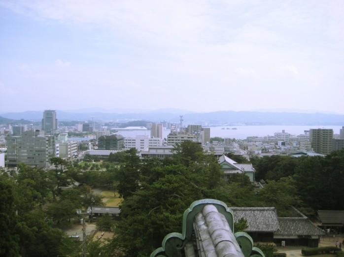 04 松江城天守からの眺め