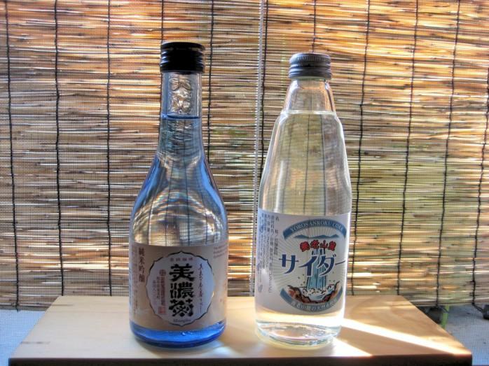 09 地酒とサイダー