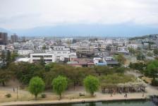 10 松本城_天守からの眺望