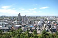 14 岡崎城_天守閣からの眺望
