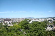 13 岡崎城_天守閣からの眺望