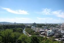 15 岡崎城_天守閣からの眺望