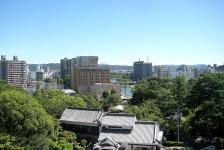 16 岡崎城_天守閣からの眺望