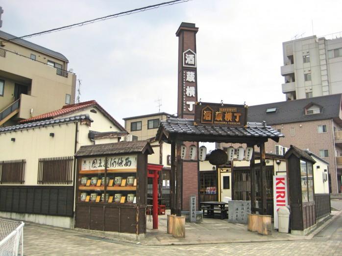 04 西条酒蔵通り