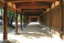 16 法隆寺_東院西伽藍回廊