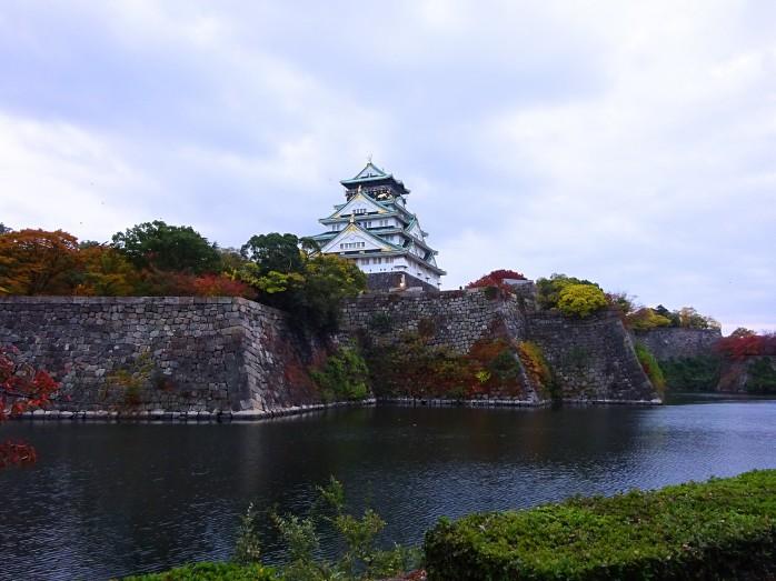 14 大阪城