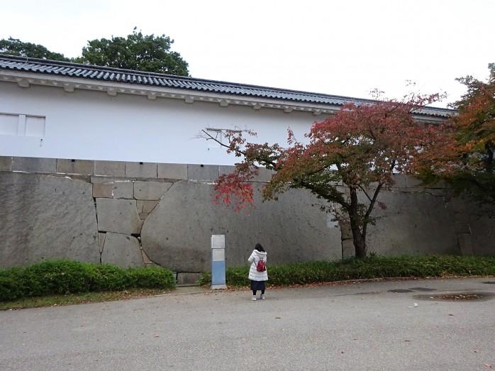 07 大阪城_見付石