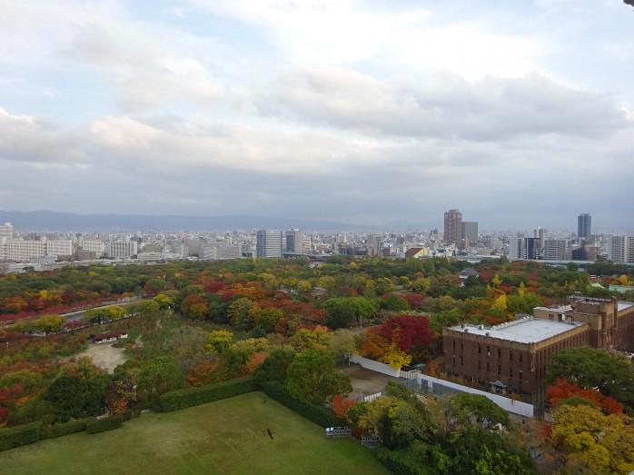 19 大阪城_天守からの眺望
