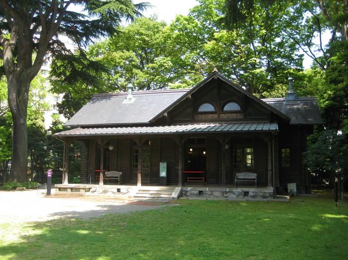 17 旧岩崎邸庭園_撞球室(ビリヤード場)
