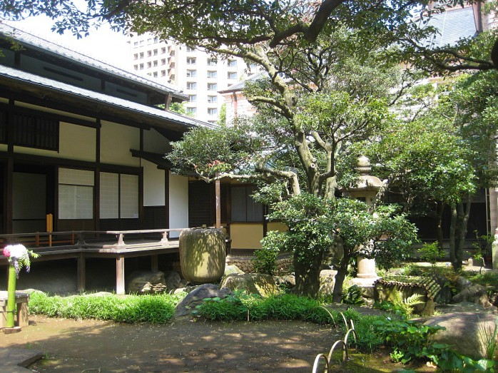 07 旧岩崎邸庭園_和館