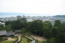 24 松江城からの眺め