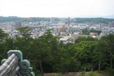 23 松江城からの眺め