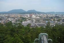 21 松江城からの眺め