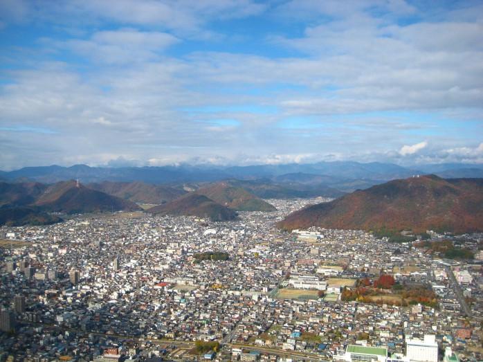 02 岐阜城からの眺め