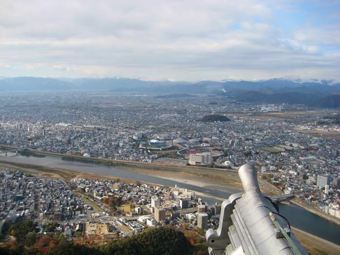 01 岐阜城からの眺め