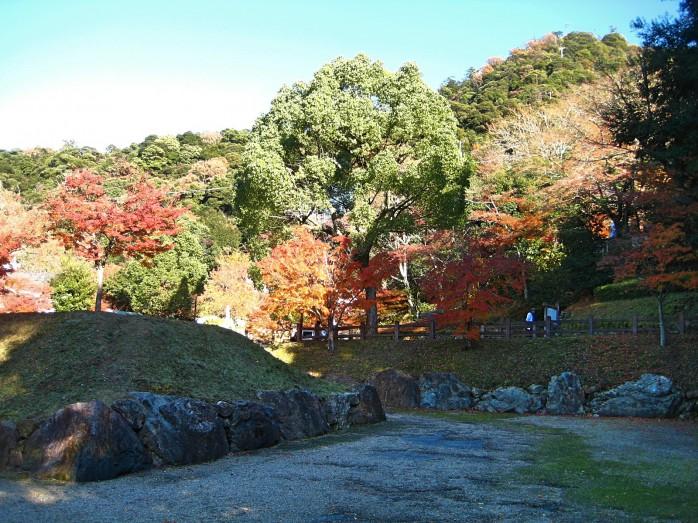 10 岐阜公園(織田信長居館跡)