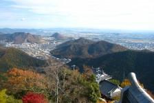 11 岐阜城からの眺め