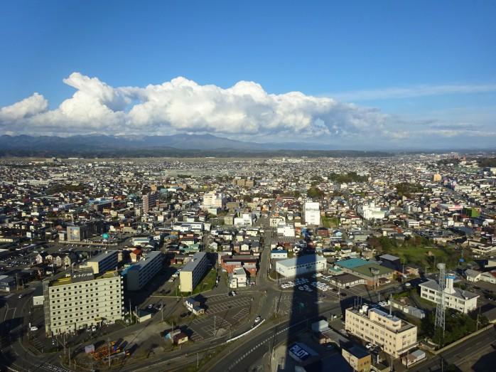 05 ポートタワーセリオンからの眺望(秋田市街)