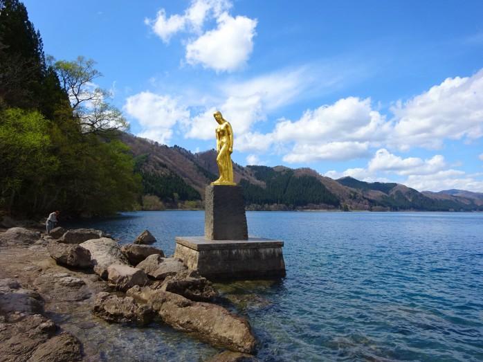 03 田沢湖_辰子姫の像
