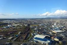 04 ポートタワーセリオンからの眺望(秋田港)