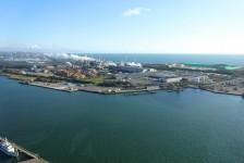 02 ポートタワーセリオンからの眺望(秋田港)