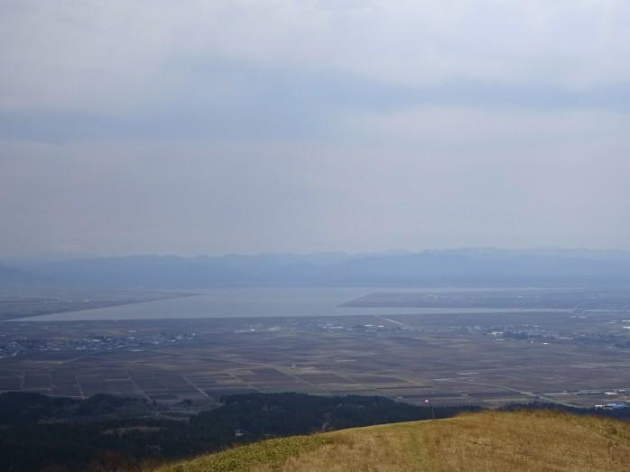 09 八郎潟_寒風山からの眺め