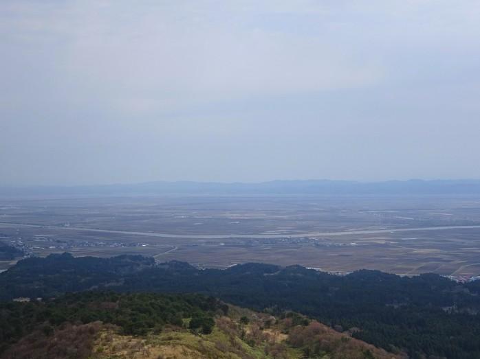 07 大潟村_寒風山からの眺め