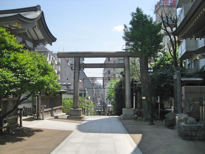 01 湯島天満宮から台東区方面を見た眺め
