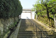 01 湯島天満宮へ続く天神男坂
