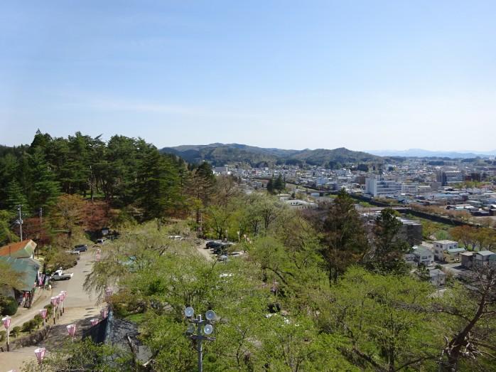 09 横手城からの眺め