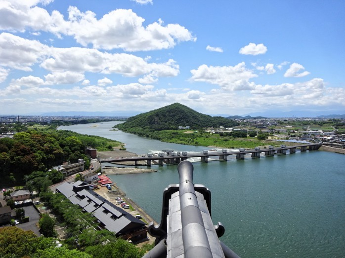 06 犬山城_天守閣からの眺望