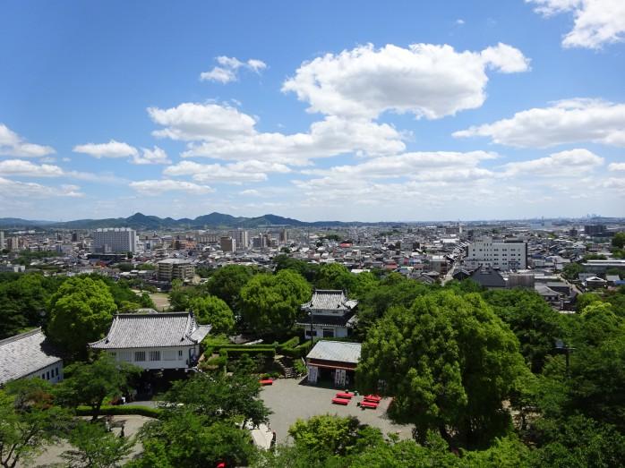 09 犬山城_天守閣からの眺望