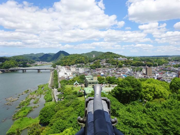 08 犬山城_天守閣からの眺望