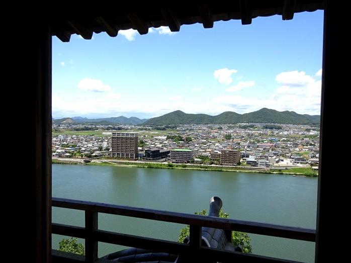 07 犬山城_天守閣からの眺望