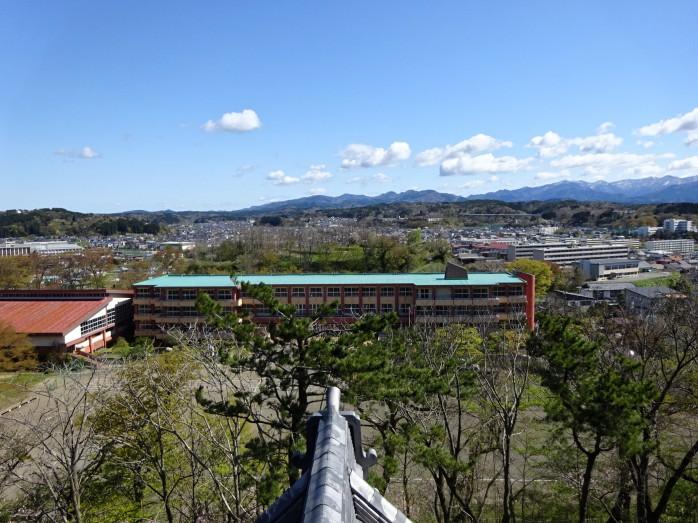 09 千秋公園_久保田城跡_御隅櫓からの眺め
