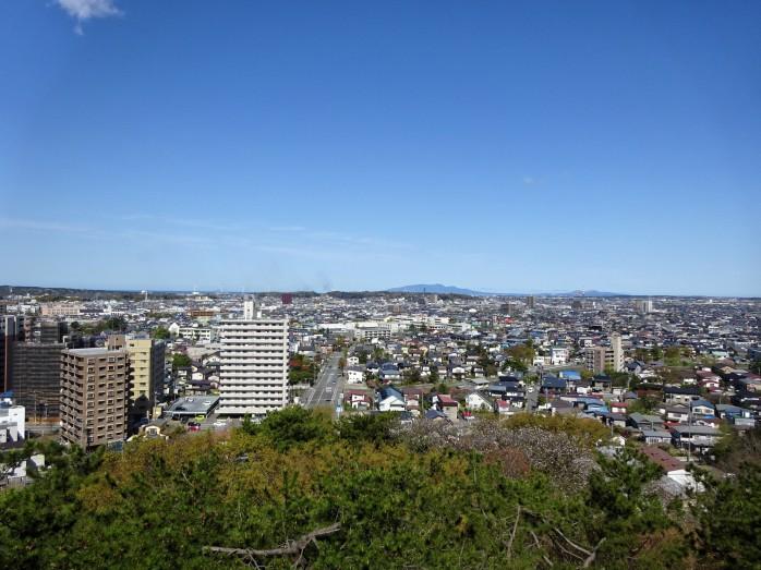 10 千秋公園_久保田城跡_御隅櫓からの眺め