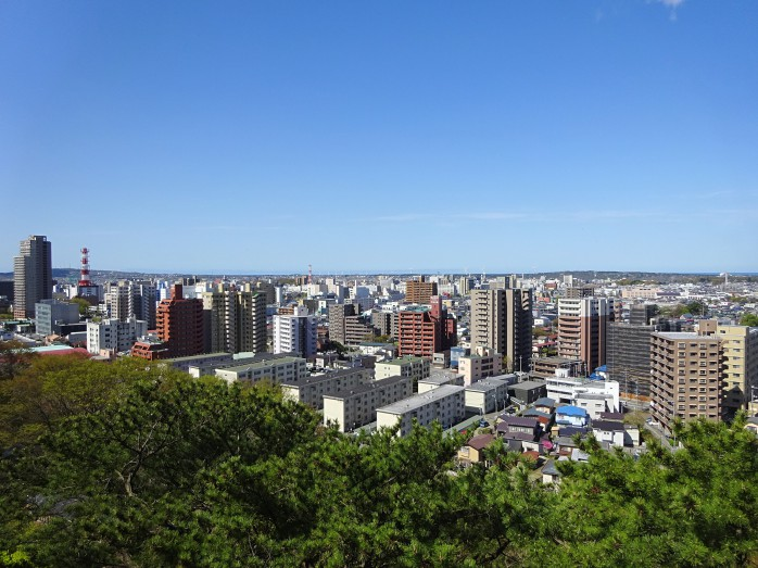 02 秋田市街