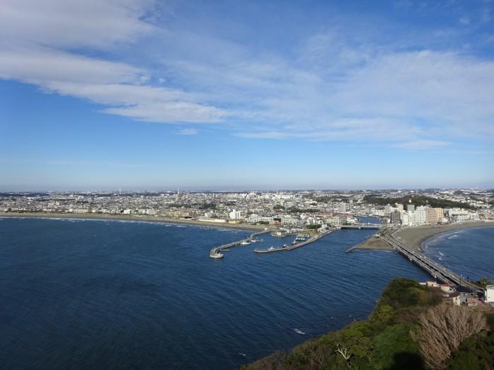 08 江の島シーキャンドルからの眺望