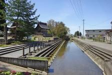 12 六郷の町に流れるお伊勢堂川