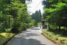 13 石見銀山_大森地区から龍源寺間歩へ続く沿道の風景